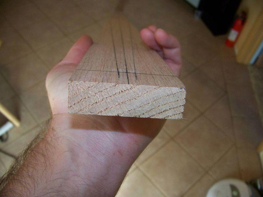 Деревянный лук своими руками