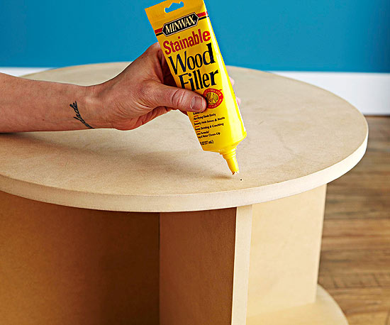 Круглый журнальный столик своими руками
