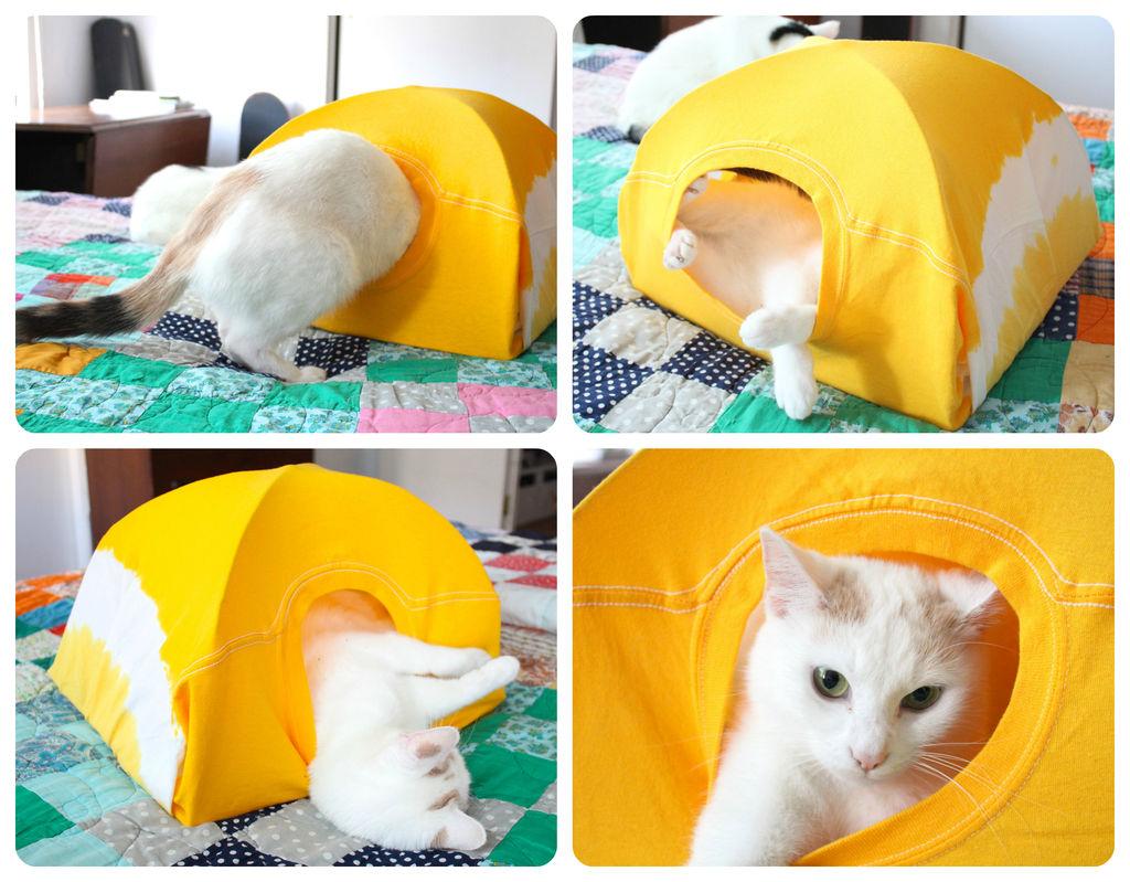 Коробка для кота своими руками