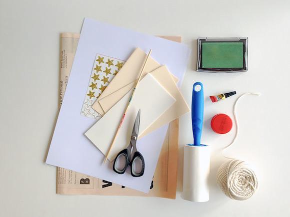 Штамп из валика для чистки одежды своими руками