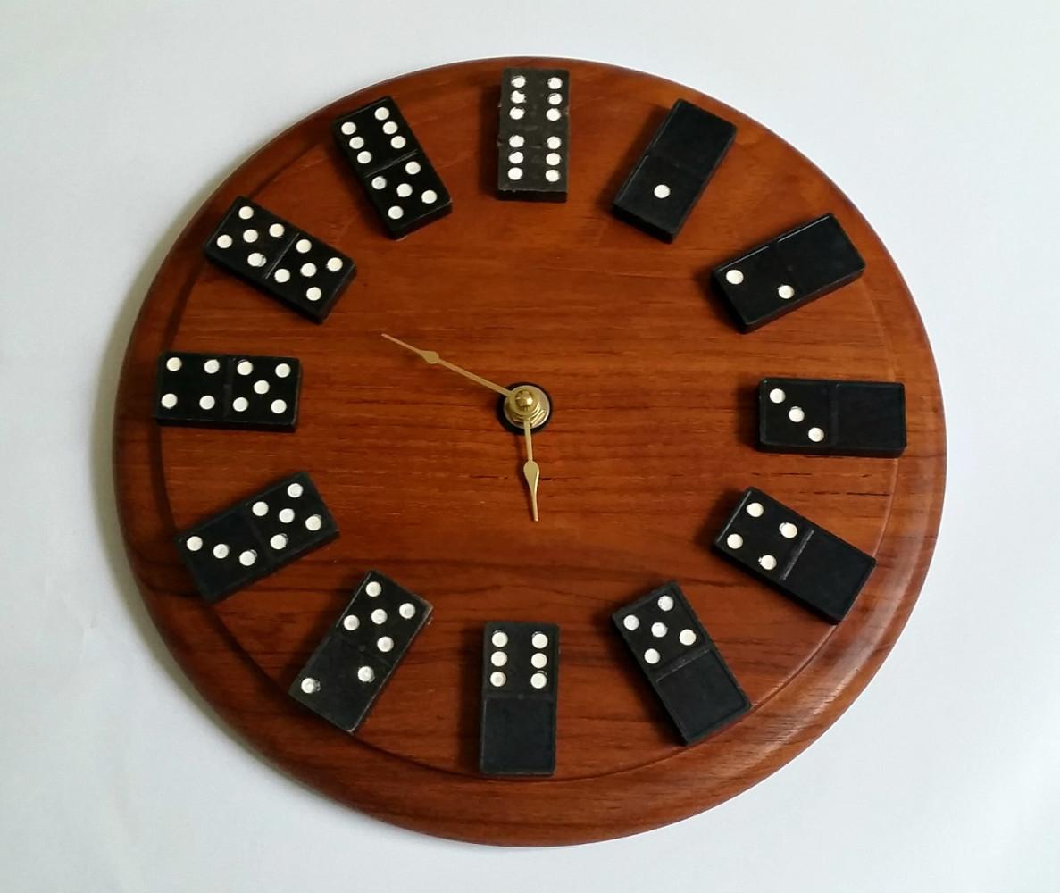 Настенные часы своими руками из подручных материалов