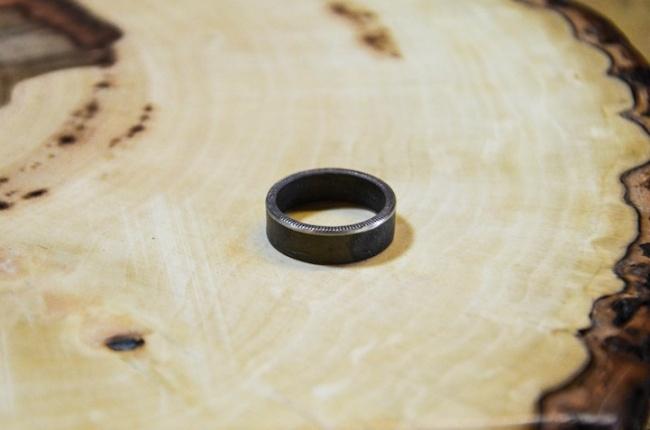 Как сделать кольцо из монеты