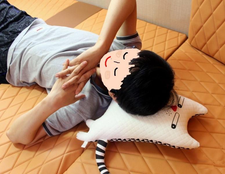 Подушка-кот своими руками