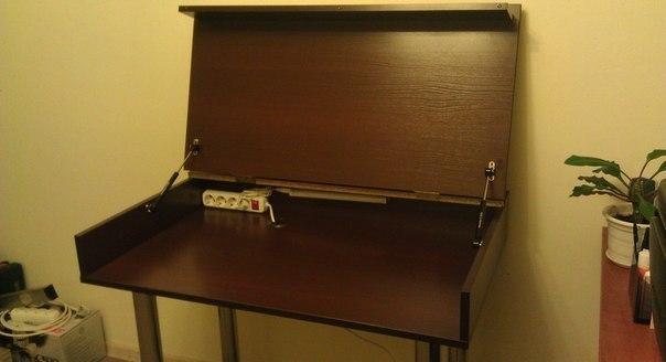 Функциональный компьютерный стол 2 в 1 своими руками