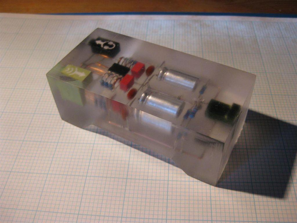 схема небольшого усилителя для наушников