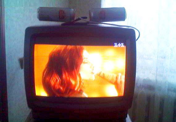 ТВ-антенна из пивных банок