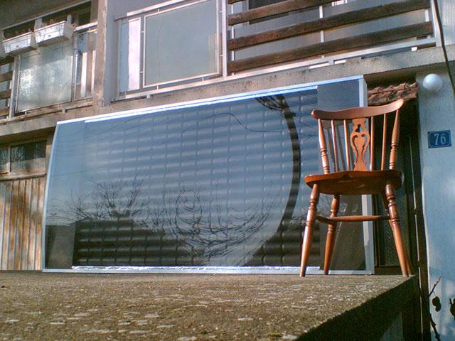 Солнечный коллектор из пивных банок своими руками