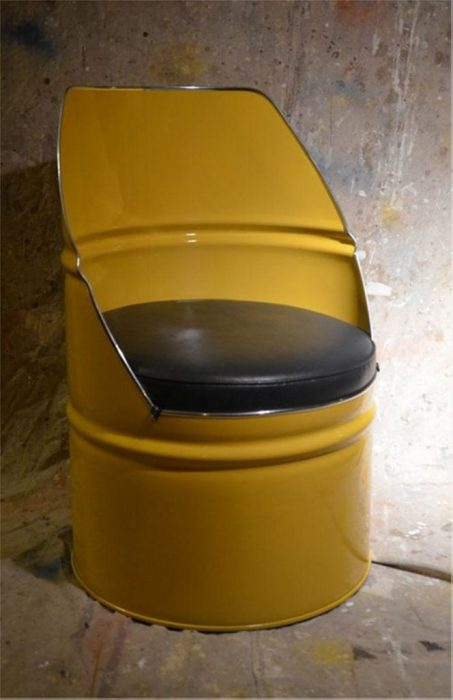Кресло (стул) из бочки