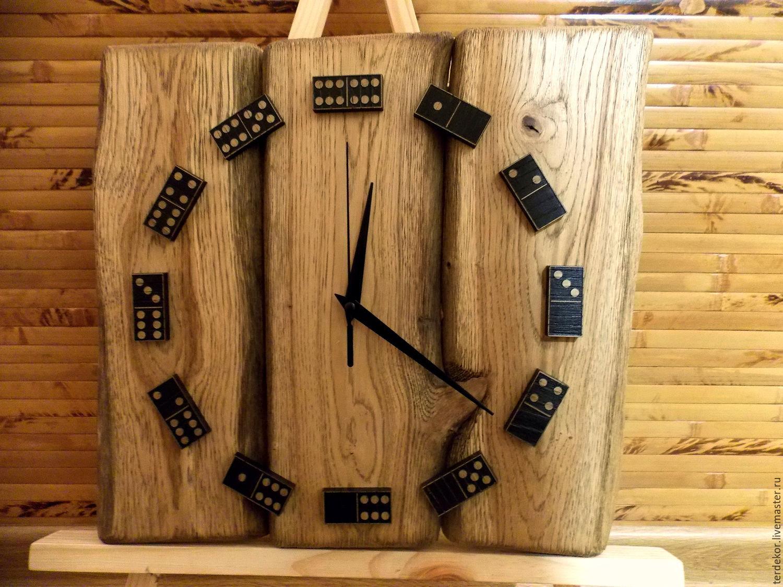 Оригинальные часы из дерева своими руками: Дом 32