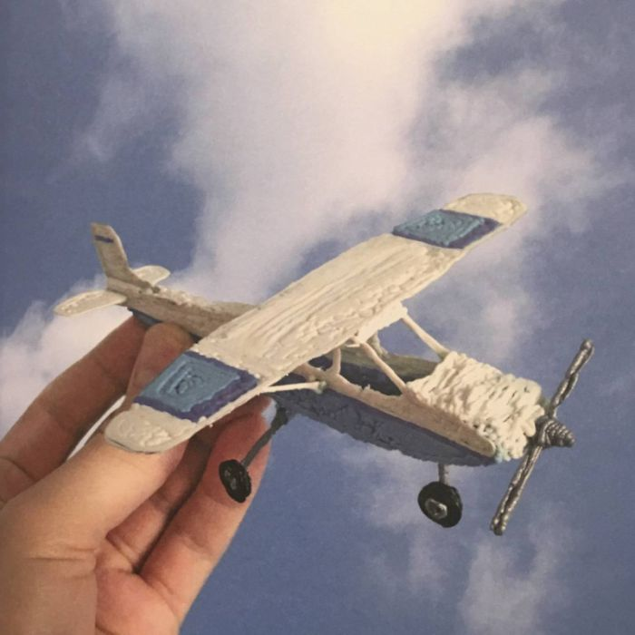 Трафарет для 3D ручки – самолёт