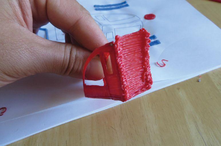 Шаблон для 3D ручки - вертолёт
