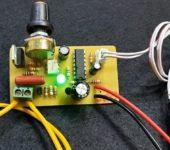 Модуль таймера для точечной сварки своими руками