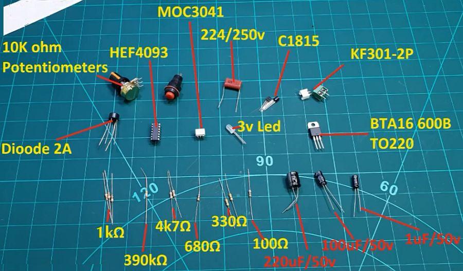 Как сделать модуль таймера для точечной сварки