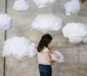 Как сделать облако из воздушных шаров и ваты