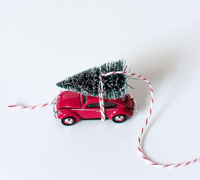 Снежный шар с машинкой своими руками