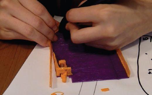 Трафарет для 3D ручки – карманный пинбол (Pocket Pinball)