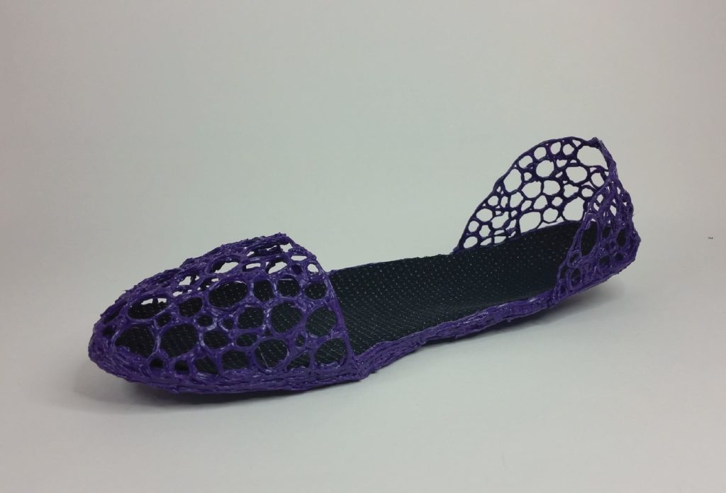 Шаблон для 3D ручки: туфельки