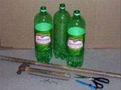Метла из пластиковых бутылок