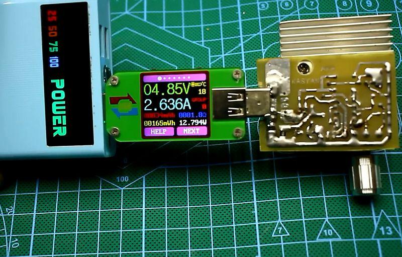 Электронная нагрузка USB своими руками