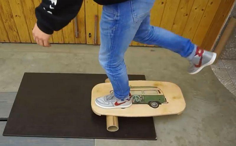 Как сделать балансборд своими руками