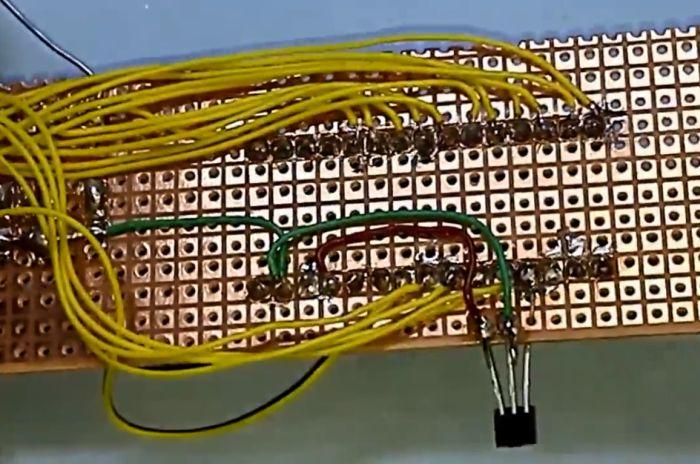 Часы пропеллер на Arduino NANO своими руками