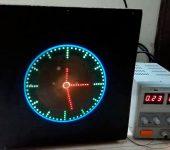 Часы-пропеллер на Arduino NANO своими руками