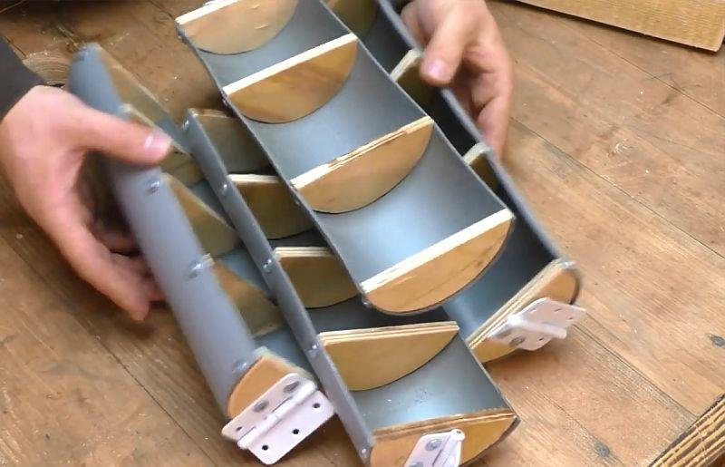 Удобный органайзер для мелких деталей в мастерскую