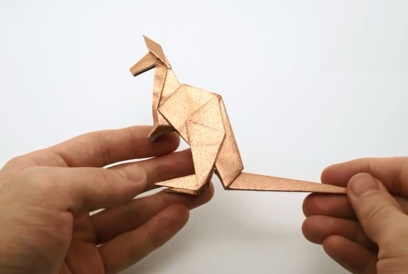 Оригами кенгуру
