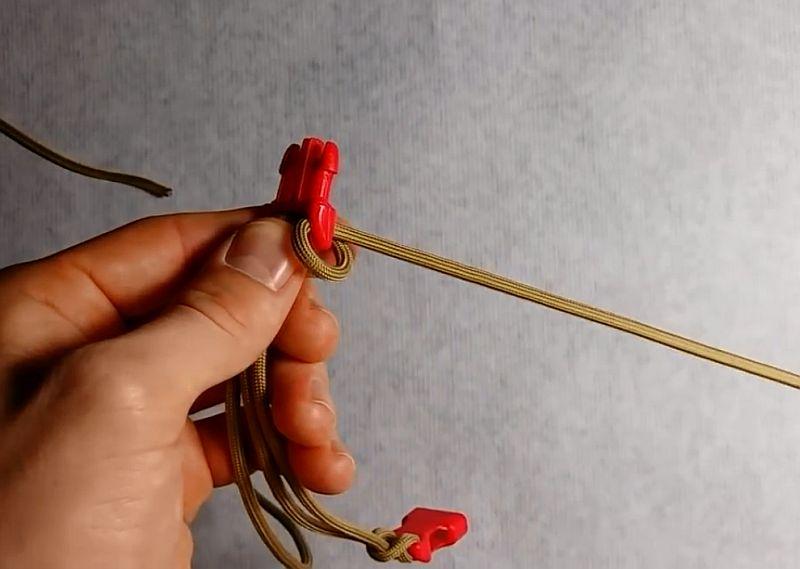Как сплести браслет из паракорда