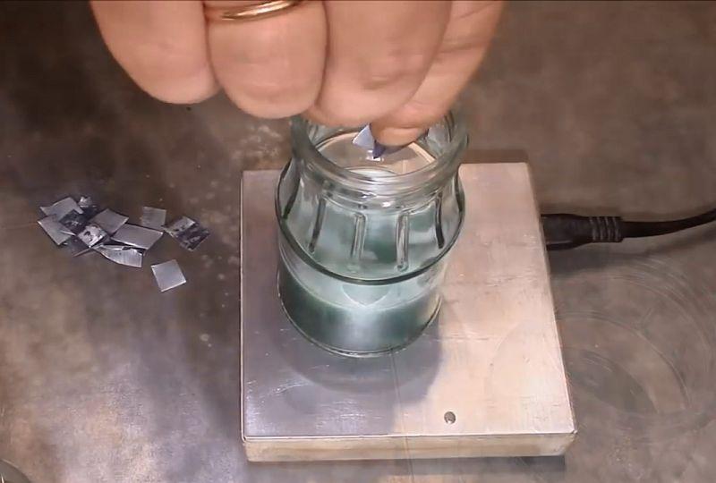 Как сделать флюс для пайки чёрных и цветных металлов