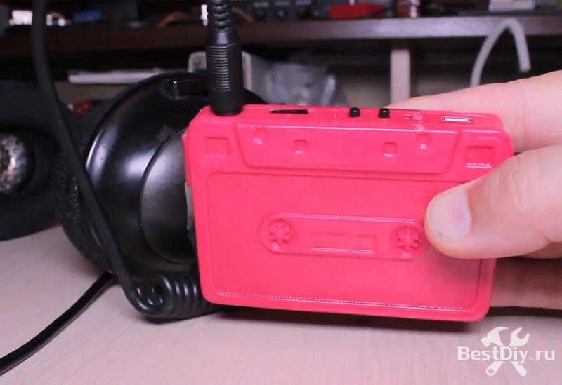 Аудиокассета - MP3 плеер своими руками
