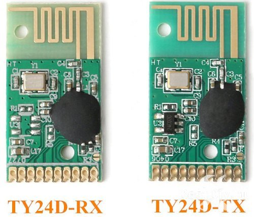 Модули дистанционного управления TY24D на 2,4 Ггц