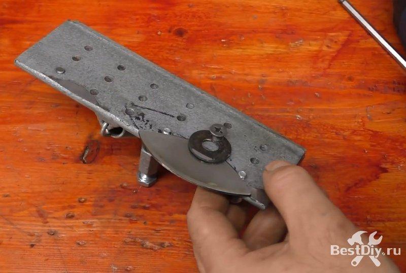 Самодельный нож из старой фрезы по металлу