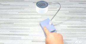 Настольная лампа с сенсорным управлением своими руками