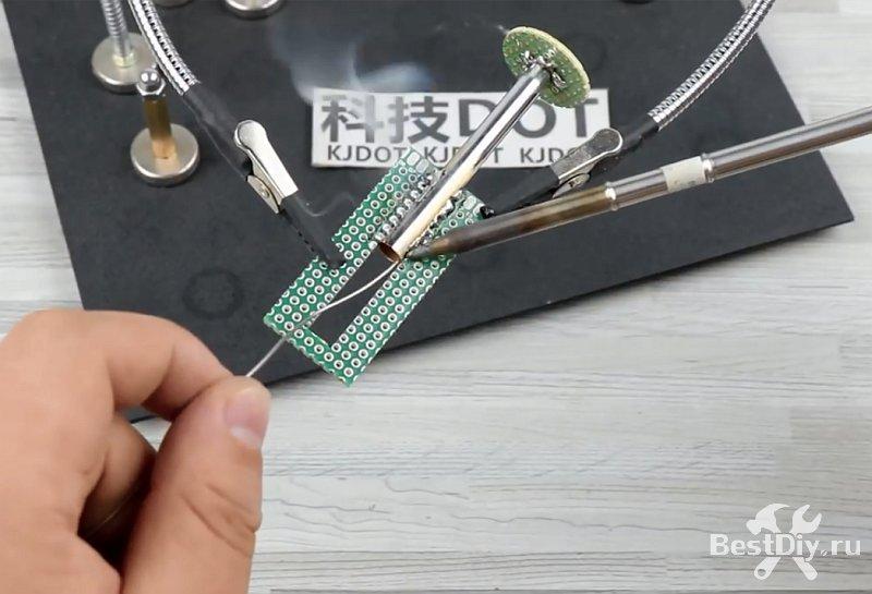 USB паяльник на сменных жалах Т12 своими руками