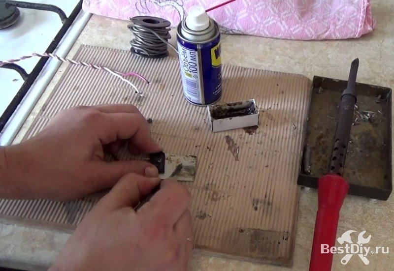Простой способ припаяться к алюминию, как залудить алюминий