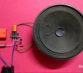 Простой дверной звонок с мелодией на UM66T (ZL66T) своими руками