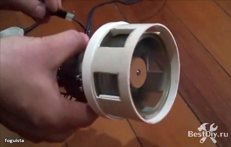 Мощная моторная сирена из консервной банки и ПВХ трубы