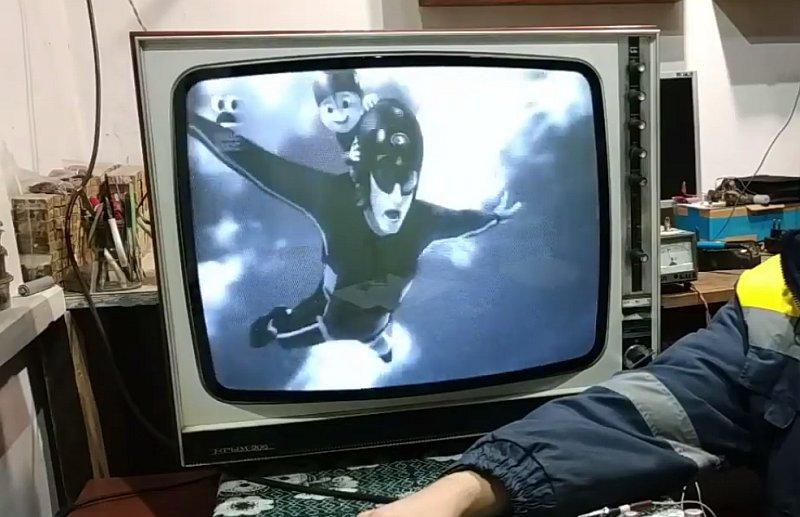 Как подключить видео и аудио по RCA к ламповому телевизору УЛПТ