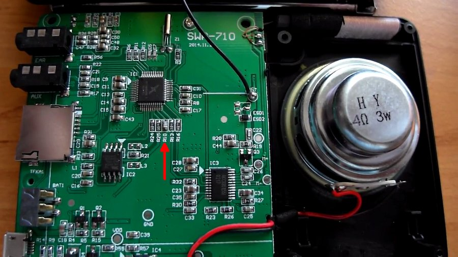 Доработка радиоприёмника Retekess V115 и как выбрать любую частоту