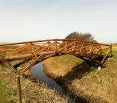 Как сделать мост Леонардо да Винчи, простой мост без единого гвоздя