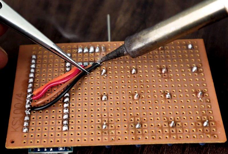 Мини 3D светодиодный куб на Arduino своими руками