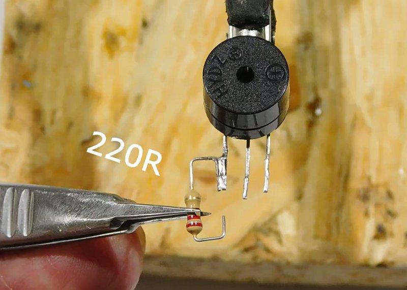 Тестер ИК пультов со звуковой и световой индикацией