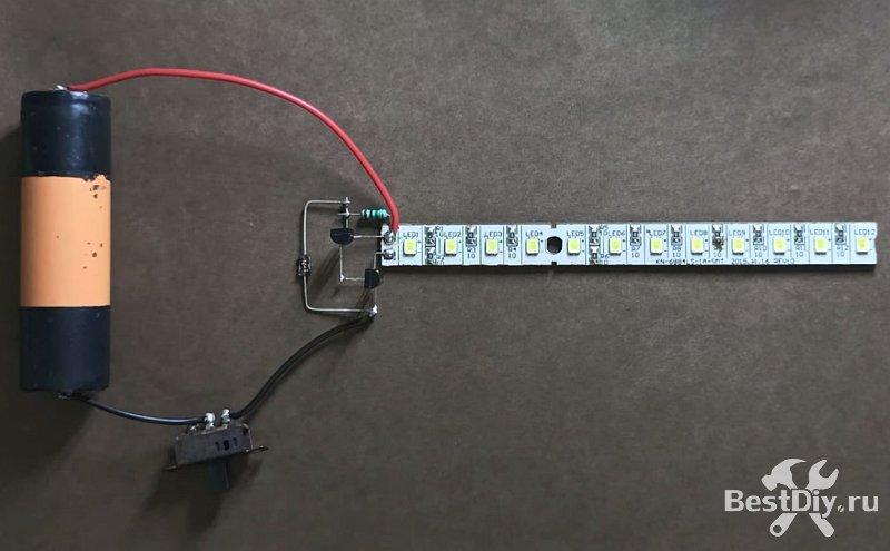 Диод в качестве датчика света для автоматического включения освещения (сумеречный датчик)