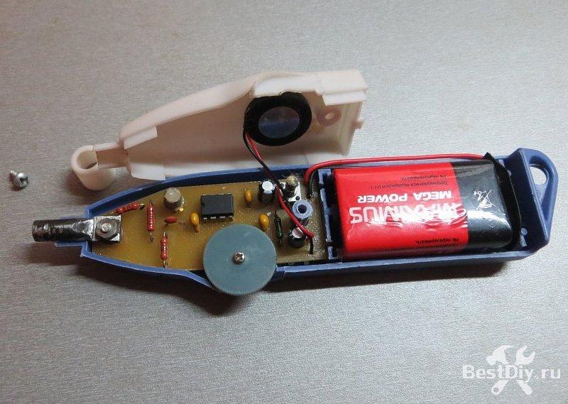 Кабельный тестер (Cable Tracker), поисковик места обрыва кабеля своими руками