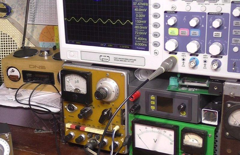 Качественный щуп для осциллографа своими руками