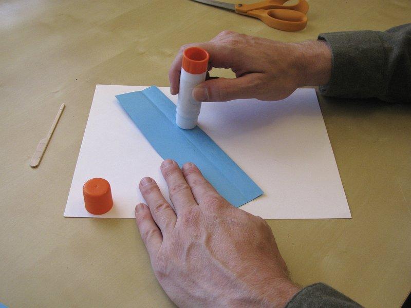 Планер из картона и палочки от мороженого своими руками