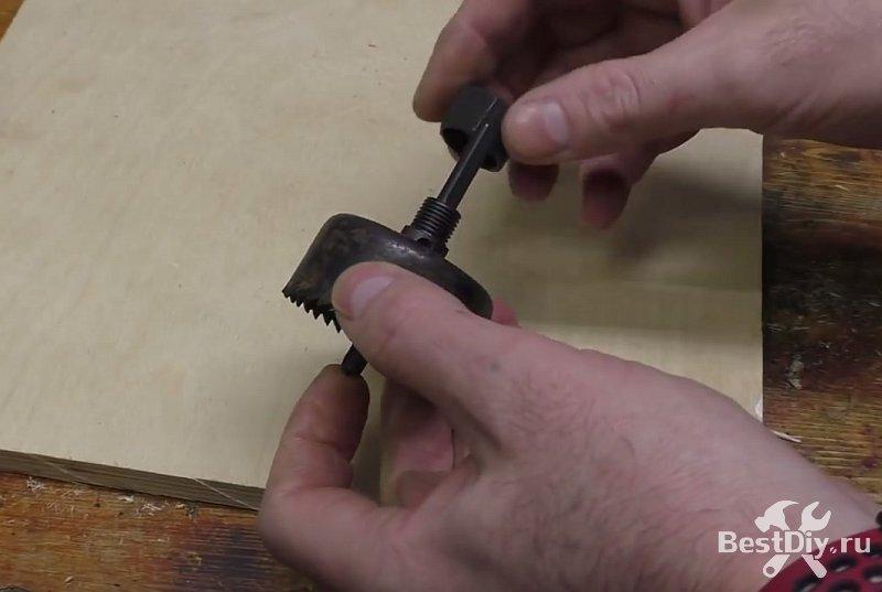 Простой способ сделать ролик для гриндера своими руками