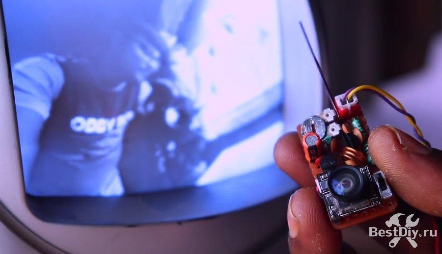 Простой видео передатчик для микро камеры