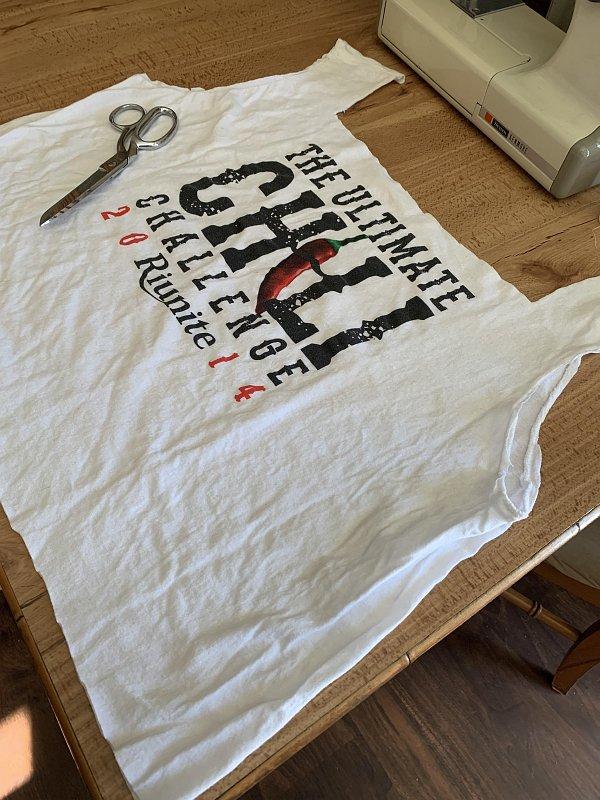Сумка из старой футболки своими руками